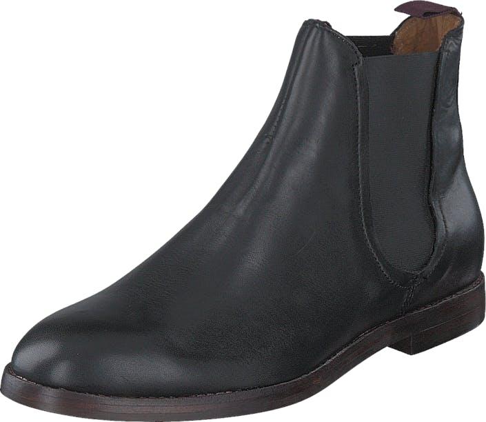 H by Hudson Tamper Calf Black, Kengät, Bootsit, Chelsea boots, Harmaa, Miehet, 42