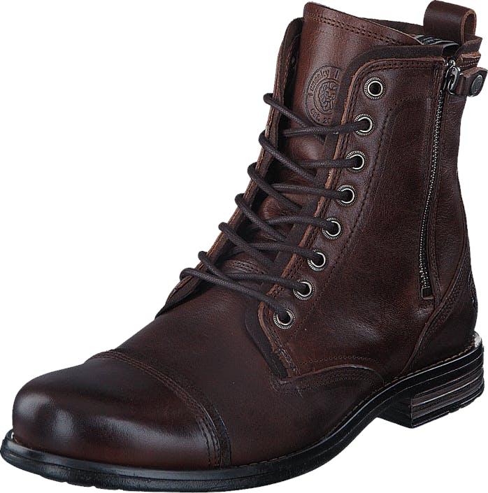Sneaky Steve Fordham Brown, Kengät, Bootsit, Korkeavartiset bootsit, Violetti, Ruskea, Miehet, 45