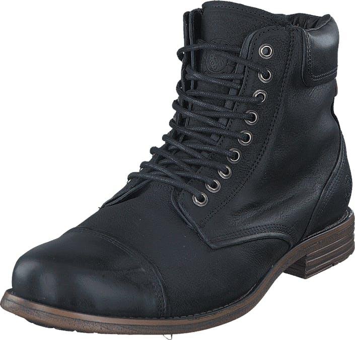 Sneaky Steve Doverlake Black Vintage Nubuck, Kengät, Bootsit, Kengät, Musta, Miehet, 44