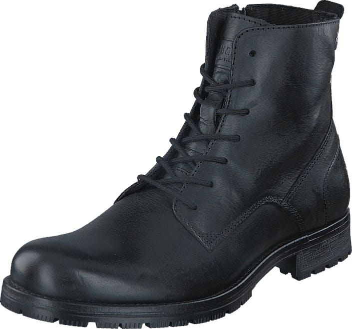 Jack & Jones Orca Leather Black, Kengät, Bootsit, Kengät, Harmaa, Miehet, 41