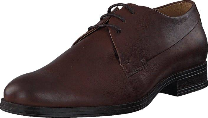 Jack & Jones Sammy Leather Cognac, Kengät, Matalapohjaiset kengät, Juhlakengät, Ruskea, Miehet, 43