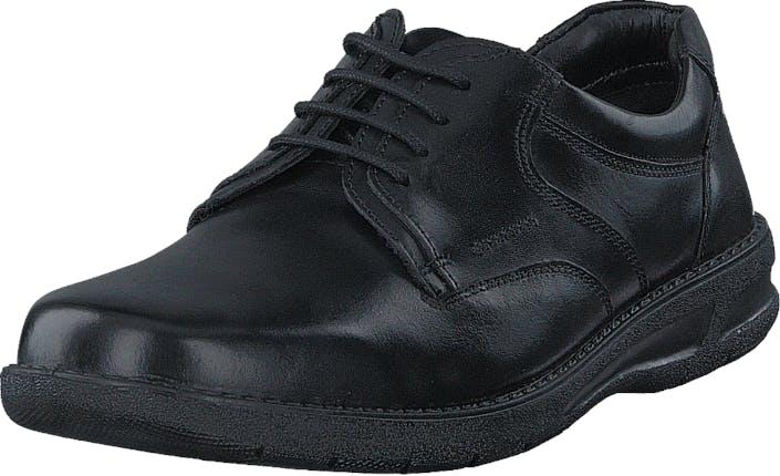 Senator 451-0010 Black, Kengät, Matalat kengät, Kävelykengät, Musta, Miehet, 40
