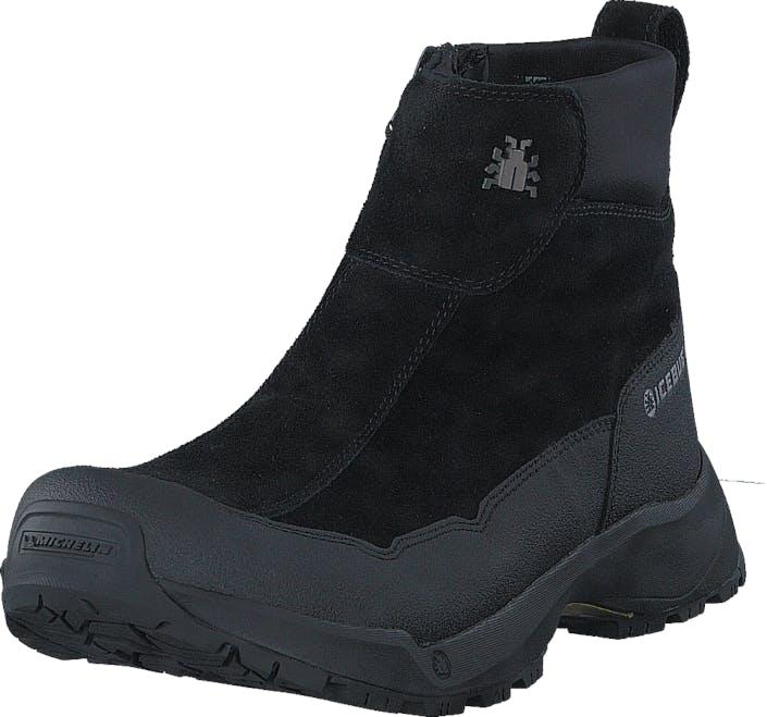 Icebug Metro2 M Michelin Wic Black, Kengät, Bootsit, Vaelluskengät, Musta, Miehet, 41