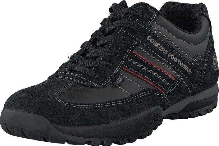 Dockers by Gerli 36ht001-204100 Black, Kengät, Sneakerit ja urheilukengät, Sneakerit, Musta, Miehet, 44