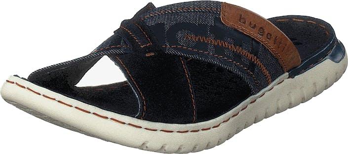 Bugatti Altea Dark Blue, Kengät, Matalapohjaiset kengät, Maryjane-kengät, Sininen, Miehet, 44