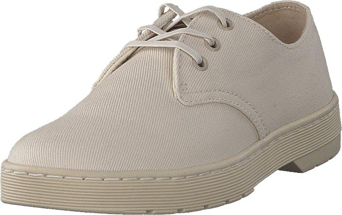 Dr Martens Delray White/ Beige, Kengät, Matalat kengät, Juhlakengät, Beige, Miehet, 45