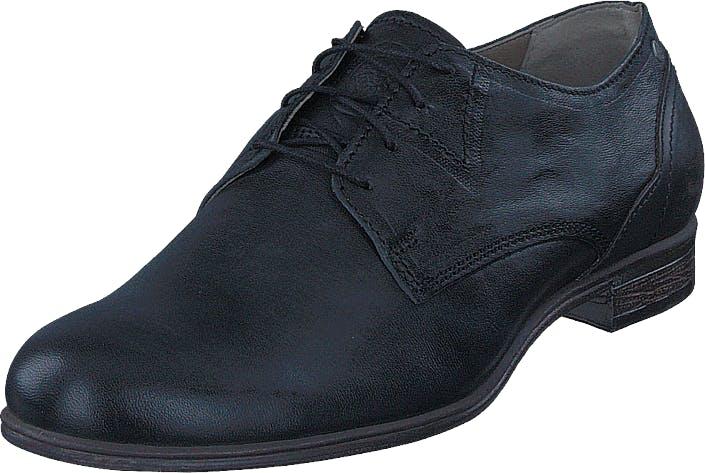Sneaky Steve Dirty Low Black Leather, Kengät, Matalapohjaiset kengät, Juhlakengät, Musta, Miehet, 41