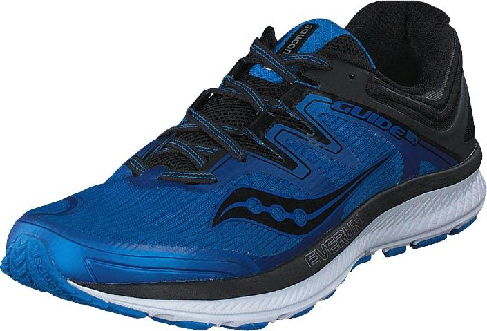Saucony Guide Iso Blue/black, Kengät, Sneakerit ja urheilukengät, Urheilukengät, Sininen, Musta, Miehet, 40