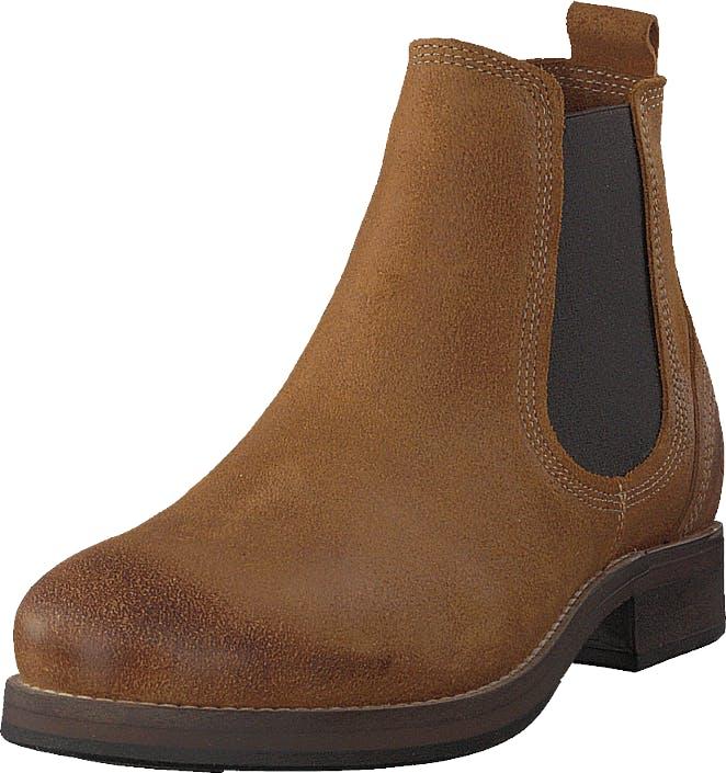 Sneaky Steve Ribald Whiskey Suede, Kengät, Bootsit, Chelsea boots, Ruskea, Miehet, 40