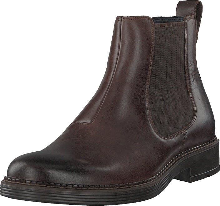 Ecco Newcastle Cocoa Brown, Kengät, Bootsit, Chelsea boots, Ruskea, Miehet, 43