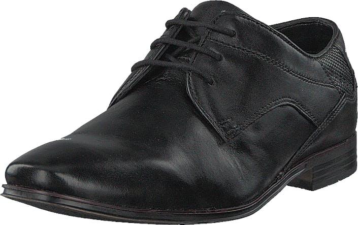 Bugatti Morino Black1000, Kengät, Matalapohjaiset kengät, Juhlakengät, Harmaa, Miehet, 40