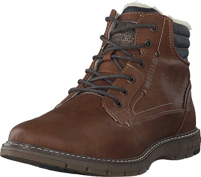 Mustang Schnür-boot Kastanie, Kengät, Bootsit, Kengät, Ruskea, Miehet, 44