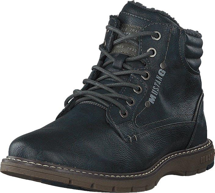 Mustang Schnür-boot Navy, Kengät, Bootsit, Kengät, Violetti, Miehet, 44