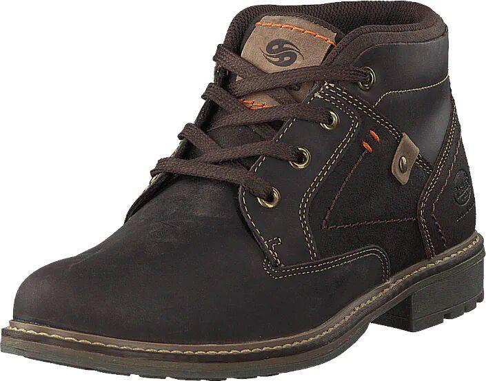 Dockers by Gerli 122375 Dark Brown, Kengät, Bootsit, Chukka boots, Ruskea, Miehet, 41