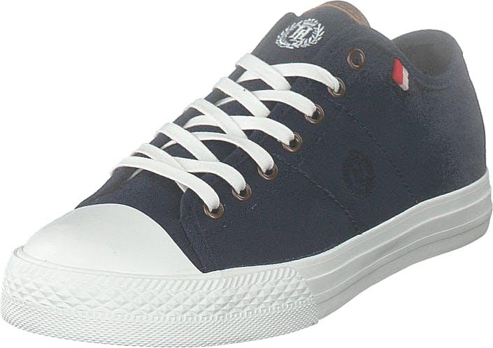 Henri Lloyd Bromley Sneaker Navy, Kengät, Tennarit ja Urheilukengät, Varrettomat tennarit, Sininen, Miehet, 44