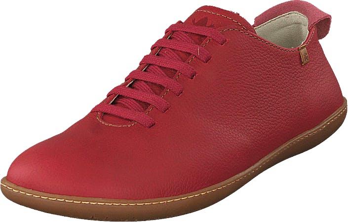Image of El Naturalista El Viajero Tibetred, Kengät, Matalapohjaiset kengät, Juhlakengät, Punainen, Naiset, 38