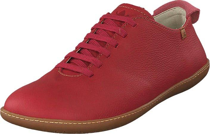Image of El Naturalista El Viajero Tibetred, Kengät, Matalapohjaiset kengät, Juhlakengät, Punainen, Naiset, 39