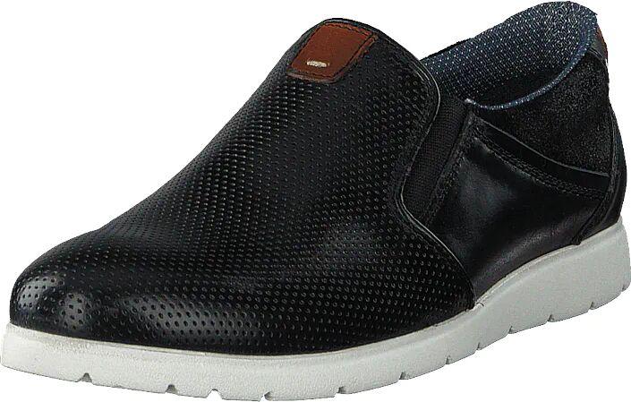 Senator 451-6139 Black, Kengät, Matalapohjaiset kengät, Kävelykengät, Musta, Miehet, 43