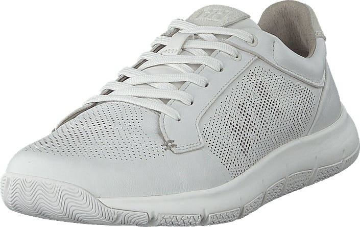 Image of Helly Hansen Skagen Pie Leather Shoe White, Kengät, Sneakerit ja urheilukengät, Sneakerit, Valkoinen, Miehet, 40
