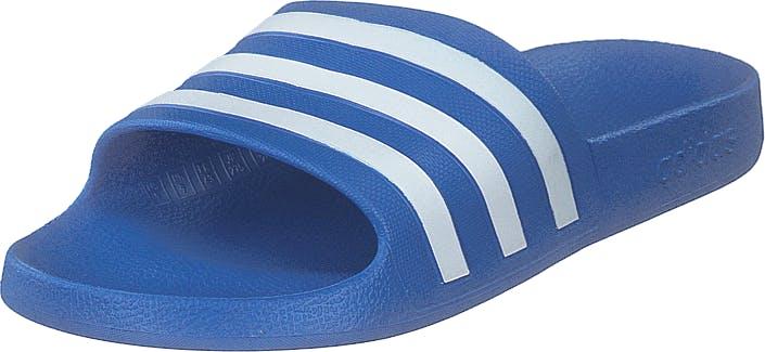 Adidas Sport Performance Adilette Aqua Trublu/ftwwht/trublu, Kengät, Sandaalit ja Tohvelit, Sandaalit, Sininen, Unisex, 42