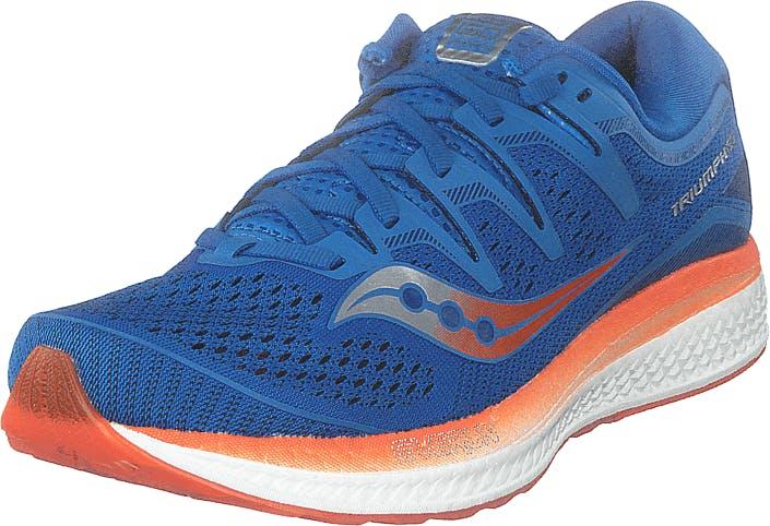 Saucony Triumph Iso 5 Blue / Orange, Kengät, Sneakerit ja urheilukengät, Urheilukengät, Sininen, Miehet, 41
