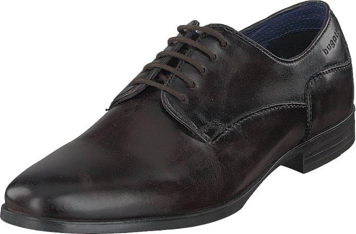 Bugatti Zenobio Dark Brown, Kengät, Matalapohjaiset kengät, Juhlakengät, Musta, Miehet, 45