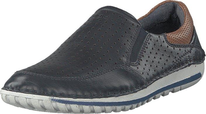 Bugatti Canberra Dark Blue, Kengät, Matalat kengät, Kävelykengät, Harmaa, Miehet, 42