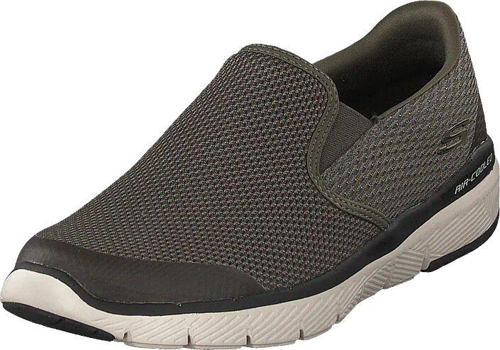 Skechers Flex Advantage 3.0 Olv, Kengät, Matalapohjaiset kengät, Slip on, Harmaa, Miehet, 41