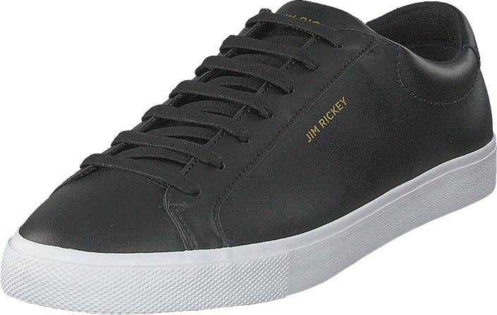 Jim Rickey Chop - Leather/pu Black, Kengät, Sneakerit ja urheilukengät, Varrettomat tennarit, Harmaa, Miehet, 43