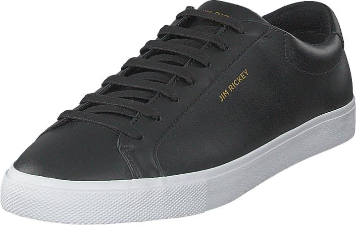 Jim Rickey Chop - Leather/pu Black, Kengät, Sneakerit ja urheilukengät, Varrettomat tennarit, Harmaa, Miehet, 42