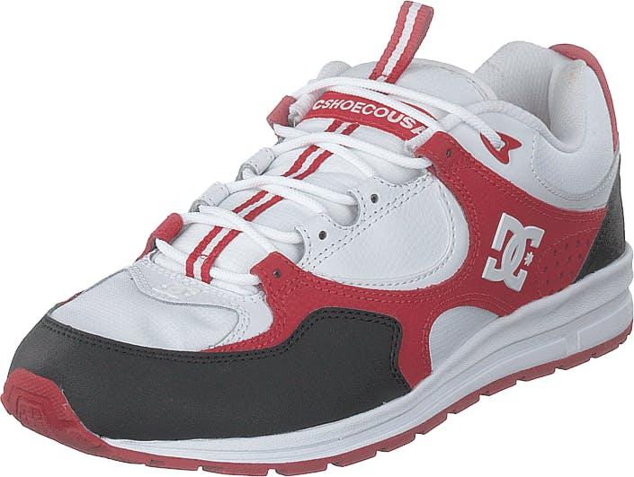 DCShoe Shoes Kalis Lite Black/white/red, Kengät, Tennarit ja Urheilukengät, Sneakerit, Punainen, Miehet, 42