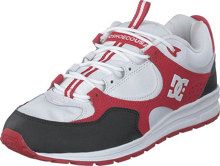 DCShoe Shoes Kalis Lite Black/white/red, Kengät, Tennarit ja Urheilukengät, Sneakerit, Punainen, Miehet, 41