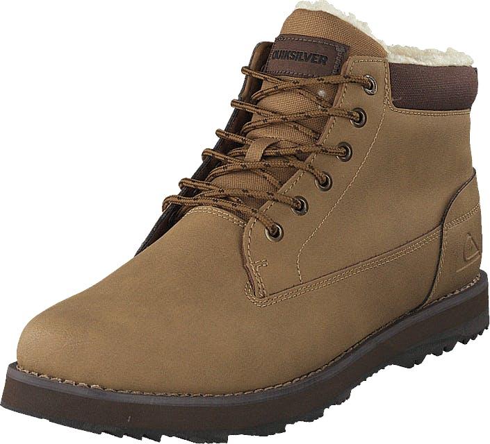 Quiksilver Mission Boot Tan - Solid, Kengät, Bootsit, Kengät, Ruskea, Miehet, 42