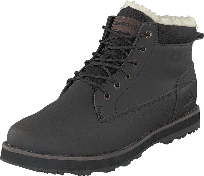 Quiksilver Mission Boot Solid Black, Kengät, Bootsit, Kengät, Musta, Miehet, 46