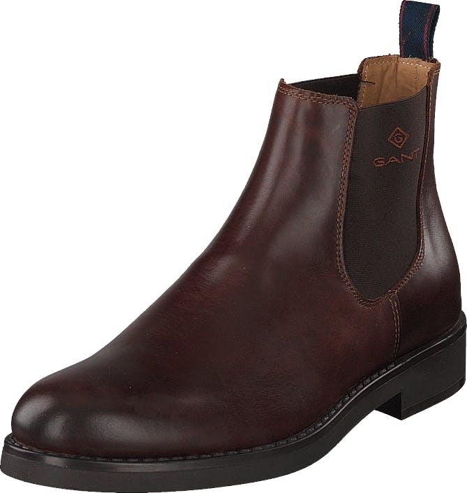 Gant Oscar Chelsea G408 Sienna Brown, Kengät, Bootsit, Chelsea boots, Ruskea, Miehet, 43