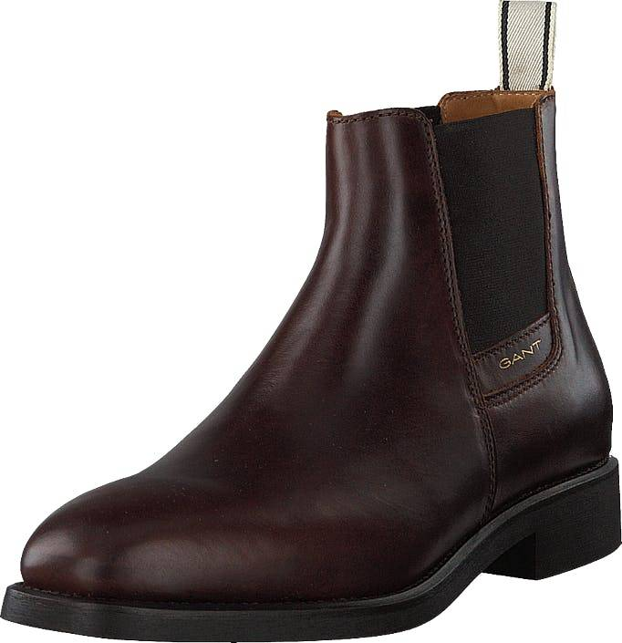 Gant James Chelsea G408 Sienna Brown, Kengät, Bootsit, Chelsea boots, Ruskea, Miehet, 40