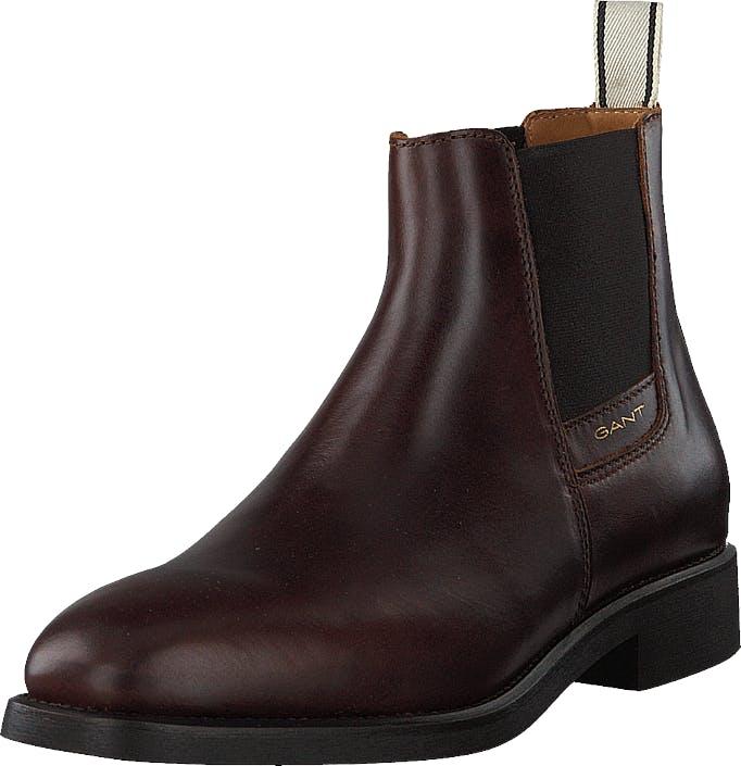 Gant James Chelsea G408 Sienna Brown, Kengät, Bootsit, Chelsea boots, Ruskea, Miehet, 42