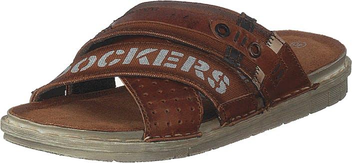 Dockers by Gerli 44sb001-187470 Brown, Kengät, Sandaalit ja Tohvelit, Flip Flopit, Ruskea, Miehet, 46