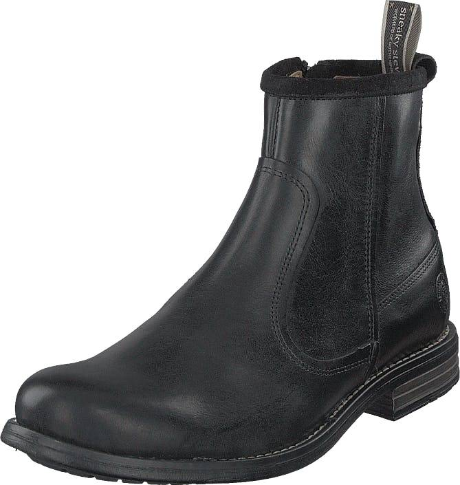 Sneaky Steve Marshal Black, Kengät, Bootsit, Chelsea boots, Harmaa, Miehet, 45