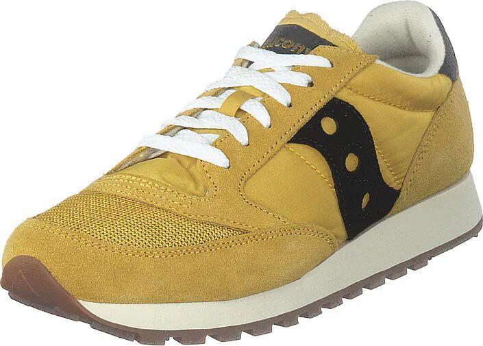 Saucony Jazz Vintage Yellow / Black, Kengät, Sneakerit ja urheilukengät, Sneakerit, Ruskea, Keltainen, Miehet, 42