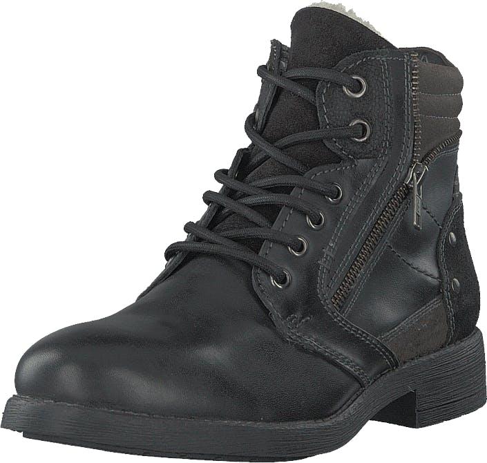 Senator 451-2008 Black, Kengät, Bootsit, Korkeavartiset bootsit, Harmaa, Miehet, 43
