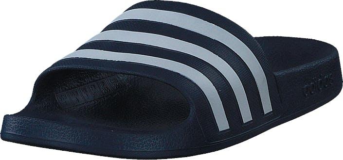 Adidas Sport Performance Adilette Aqua Dark Blue/ftwr White/dark Blue, Kengät, Sandaalit ja Tohvelit, Flip Flopit, Sininen, Unisex, 47