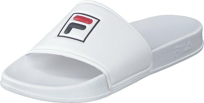 Fila Palm Beach Slipper White, Kengät, Sandaalit ja tohvelit, Sandaalit, Valkoinen, Miehet, 44