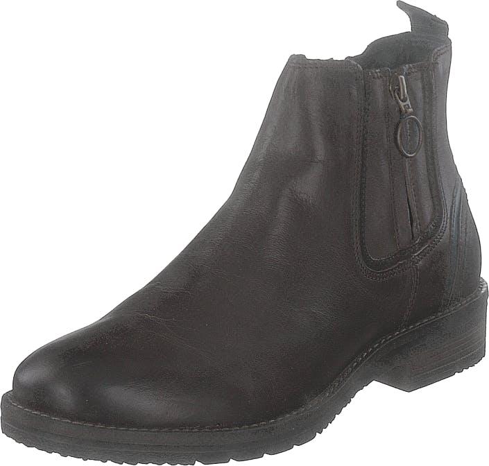 Wrangler Boogie Chelsea Dk Brown, Kengät, Bootsit, Chelsea boots, Harmaa, Miehet, 45