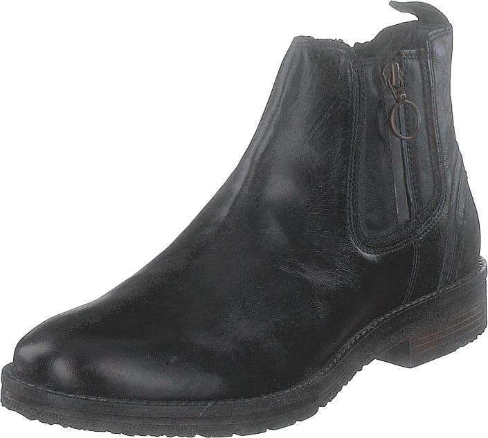 Wrangler Boogie Chelsea Anthracite, Kengät, Bootsit, Chelsea boots, Musta, Miehet, 45