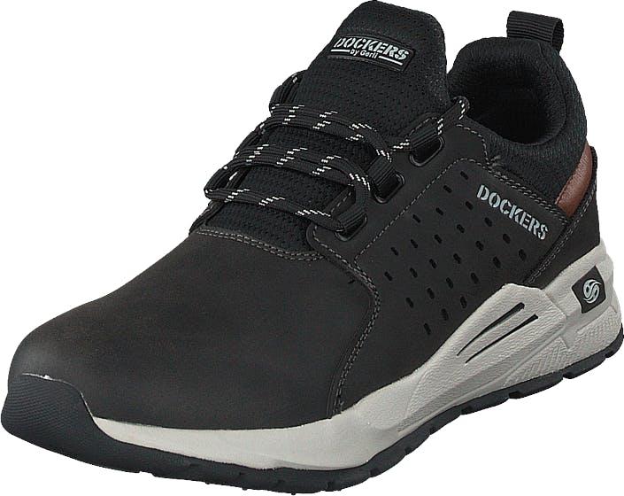 Dockers by Gerli 45av001-657100 Black, Kengät, Sneakerit ja urheilukengät, Urheilukengät, Musta, Miehet, 43