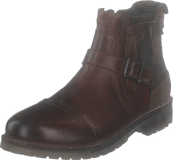 Dockers by Gerli 45ln004-140470 Cognac, Kengät, Bootsit, Chelsea boots, Ruskea, Miehet, 43