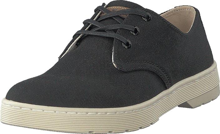 Image of Dr Martens Delray Black, Kengät, Matalapohjaiset kengät, Kangaskengät, Musta, Miehet, 45