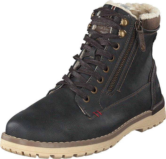 Mustang 4092616 Graphit, Kengät, Bootsit, Kengät, Musta, Miehet, 44