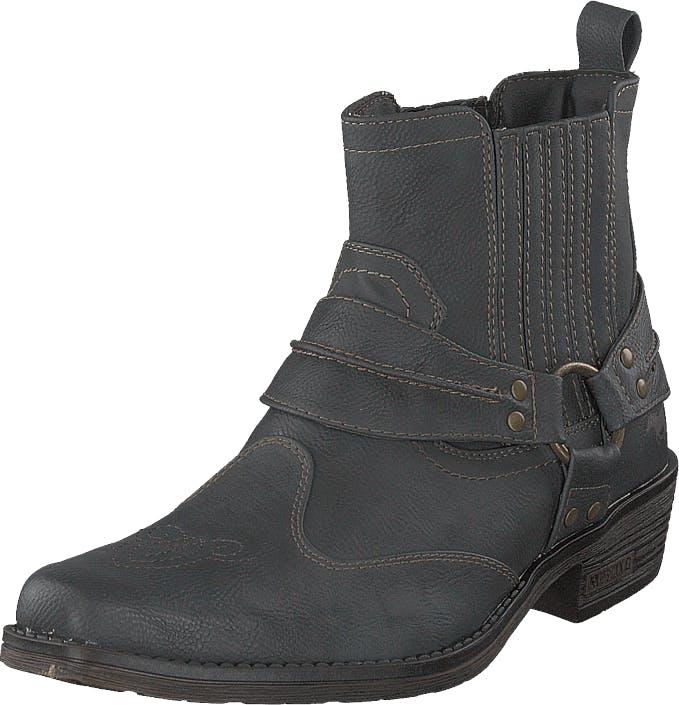 Mustang 4116501 Graphit, Kengät, Bootsit, Korkeavartiset bootsit, Harmaa, Miehet, 44